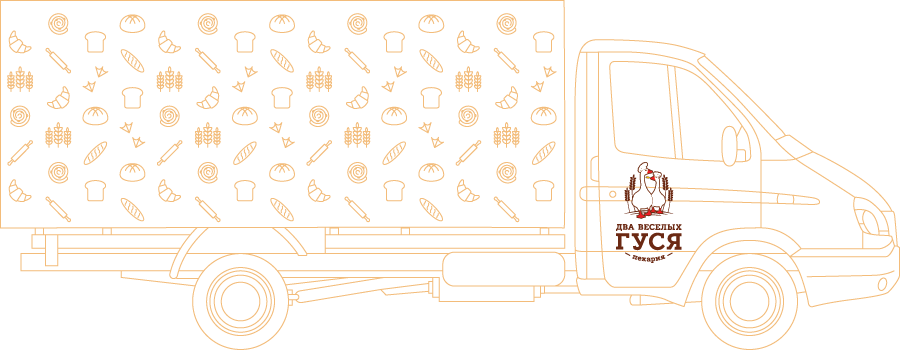 Разработка фирменного стиля пекарни