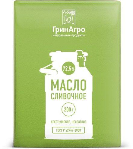 Дизайн упаковки сливочного масла