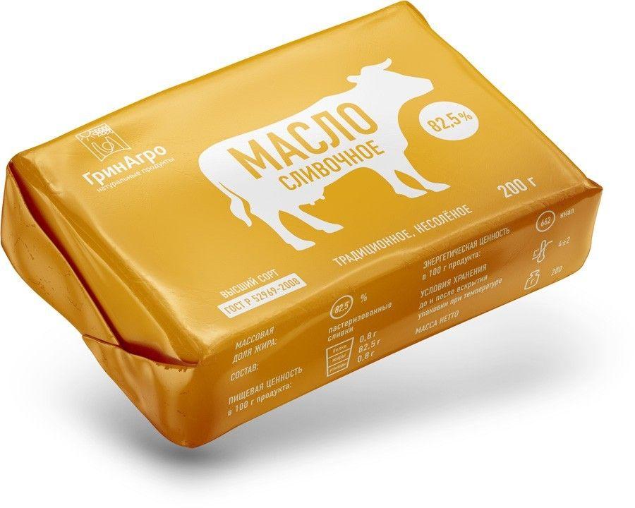 Дизайн упаковки масла ГринАгро