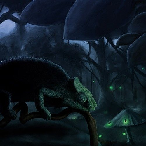 Иллюстрация Chameleon