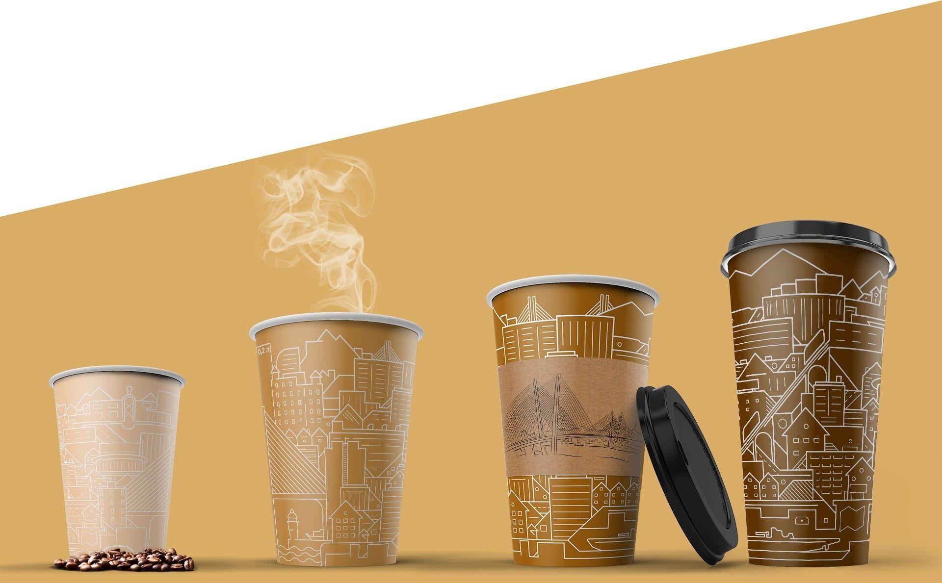 Дизайн стаканов Владивосток