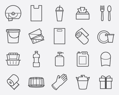 Free icons HoReCa