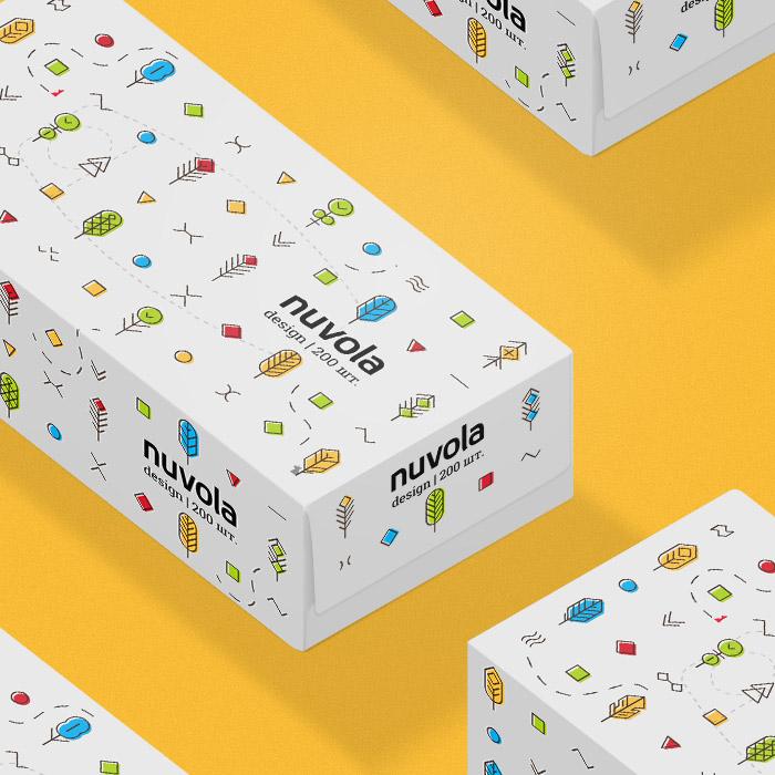 Упаковка Nuvola Design