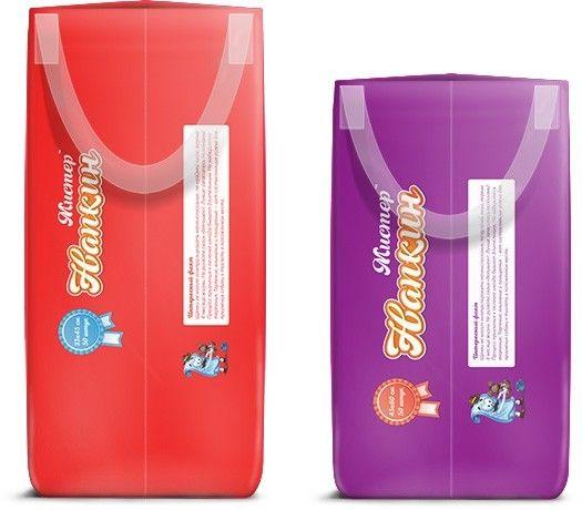 Дизайна боковых сторон упаковки Напкин