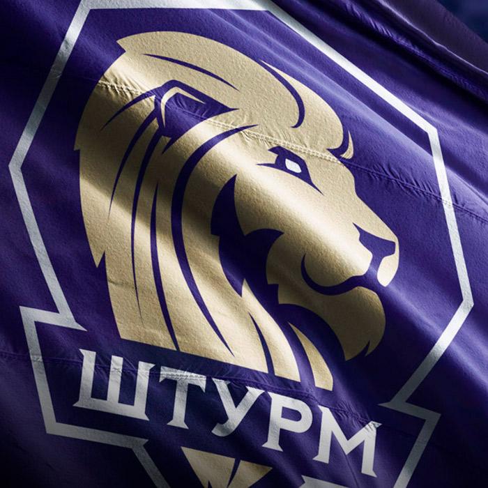 Логотип футбольной команды «Штурм»